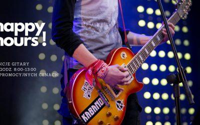 Happy Hours! Nauka gry na gitarze dla Studenta